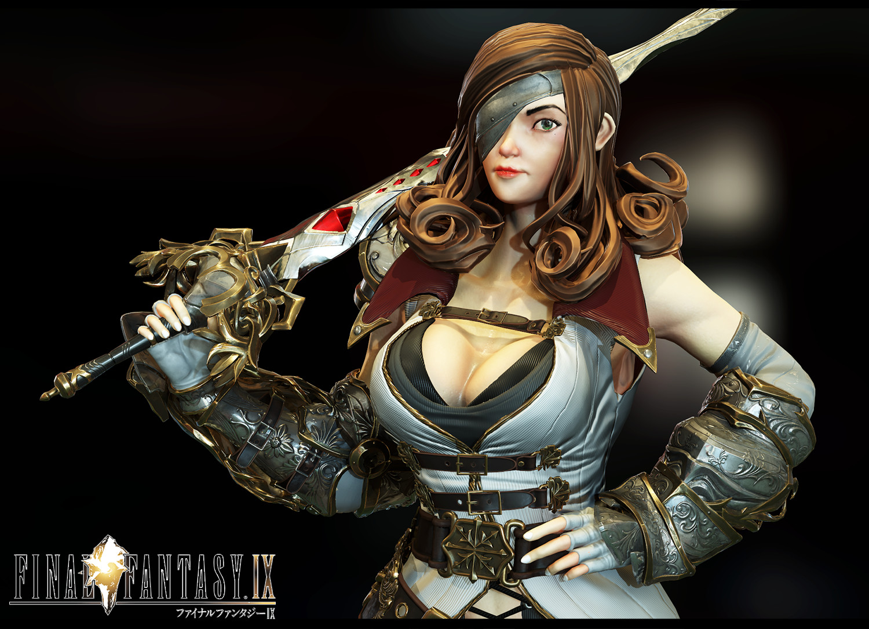 Artstation Beatrix Fan Art Final Fantasy 9 Retrogasm 2018