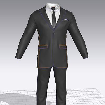 Kenzie lamar suitfrontpattern