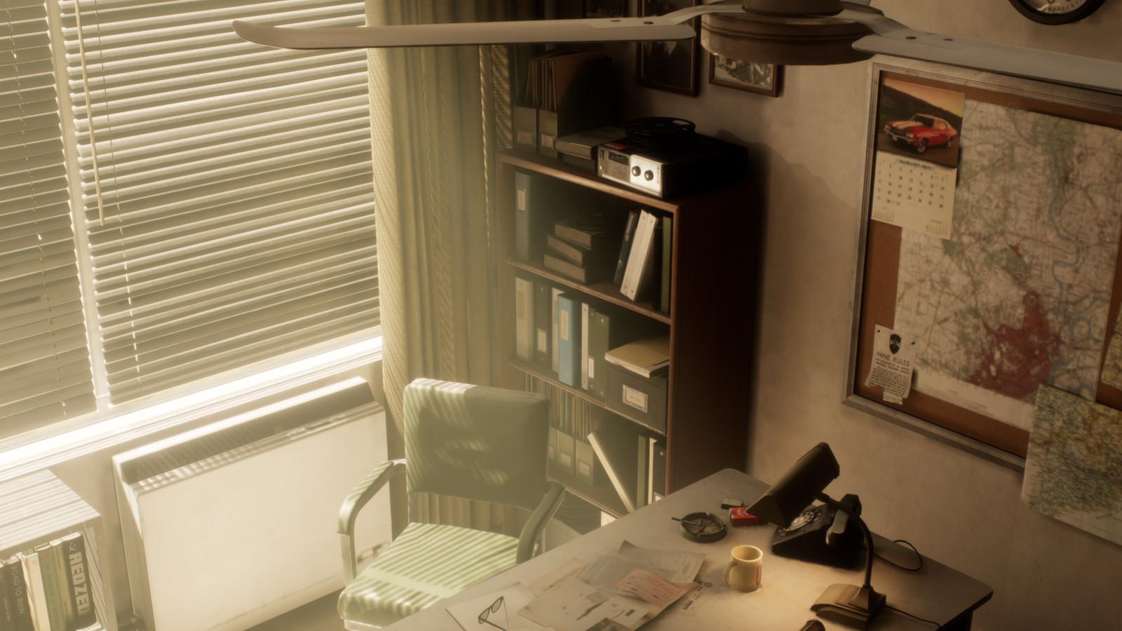 Deputy's Office breakdown