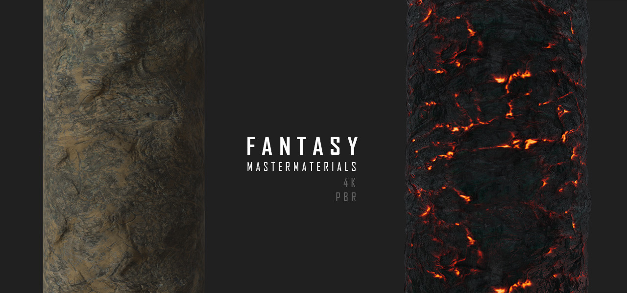 Fantasy materials pack