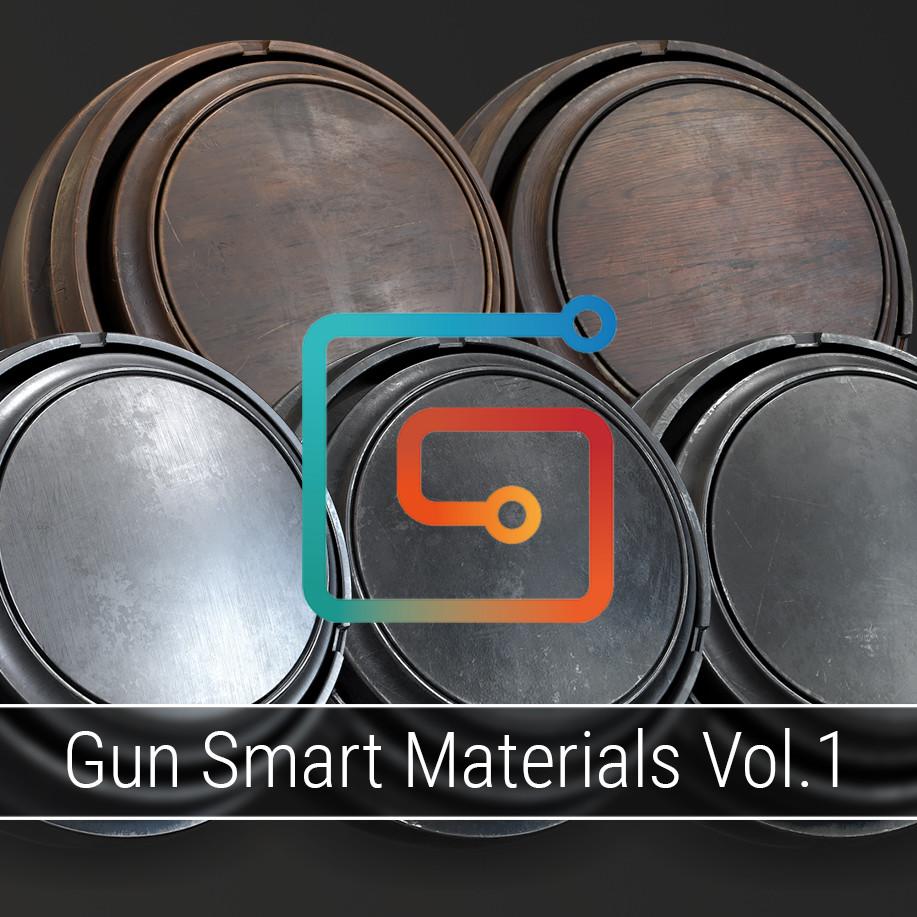 Gun Smart Materials Pack Vol.1