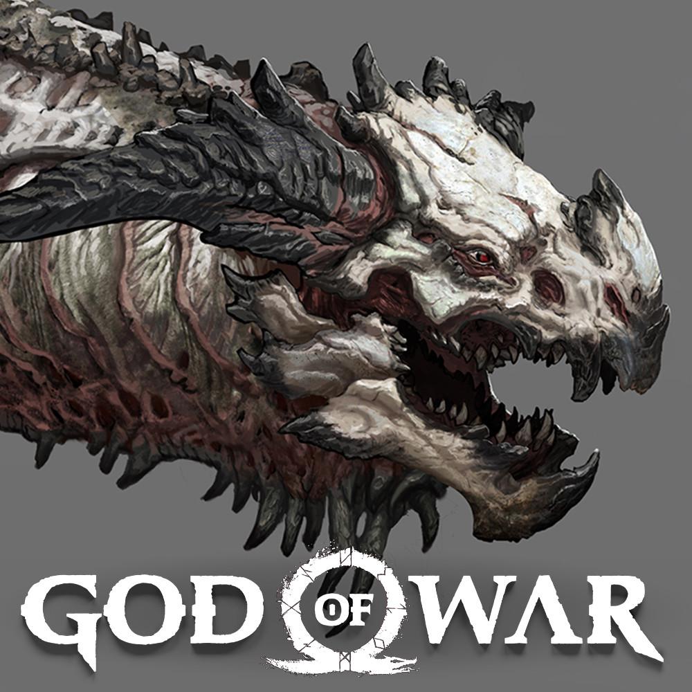 ArtStation - Hraezlyr Dragon Boss, Stephen Oakley