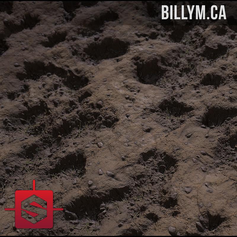 Muddy Dirt Material