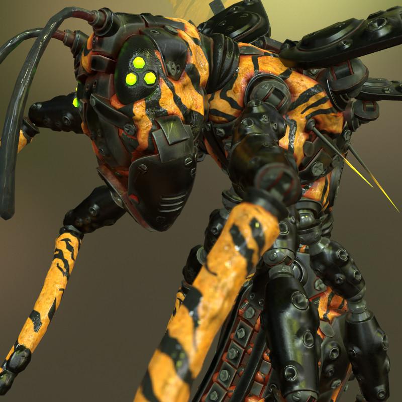 Tracker Jacker Wasp
