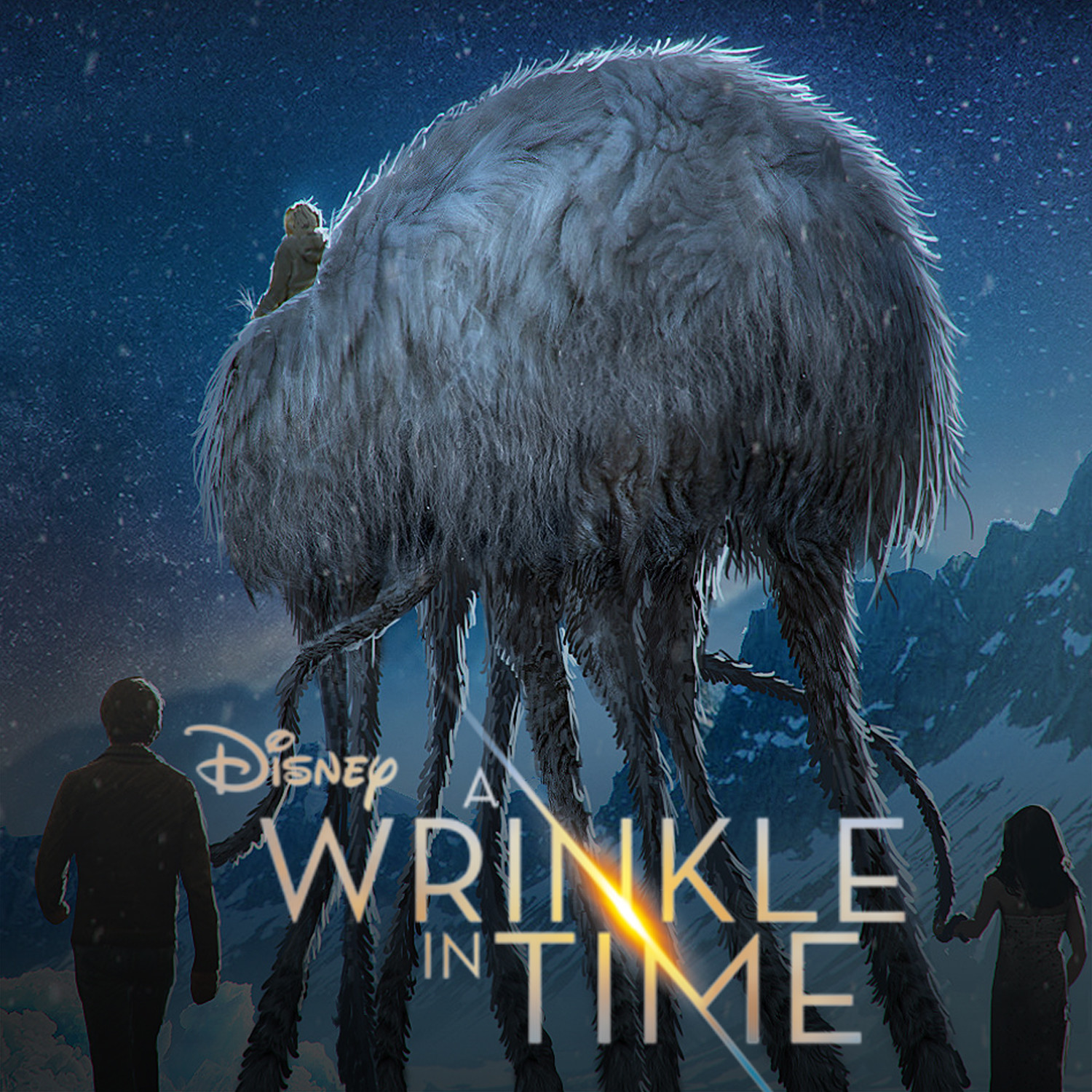 Wrinkle in Time Creature Work
