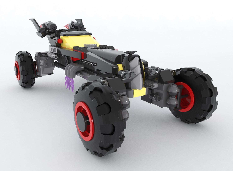 """Lego Batman's Batmobile """"The Speedwagon"""""""