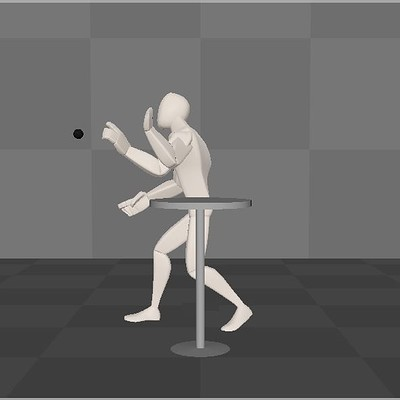 Animation of a Ball Throw