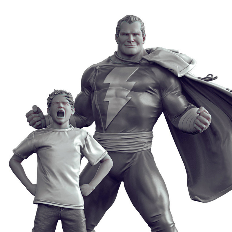 Shazam - Art Scale 1/10 - Iron Studios