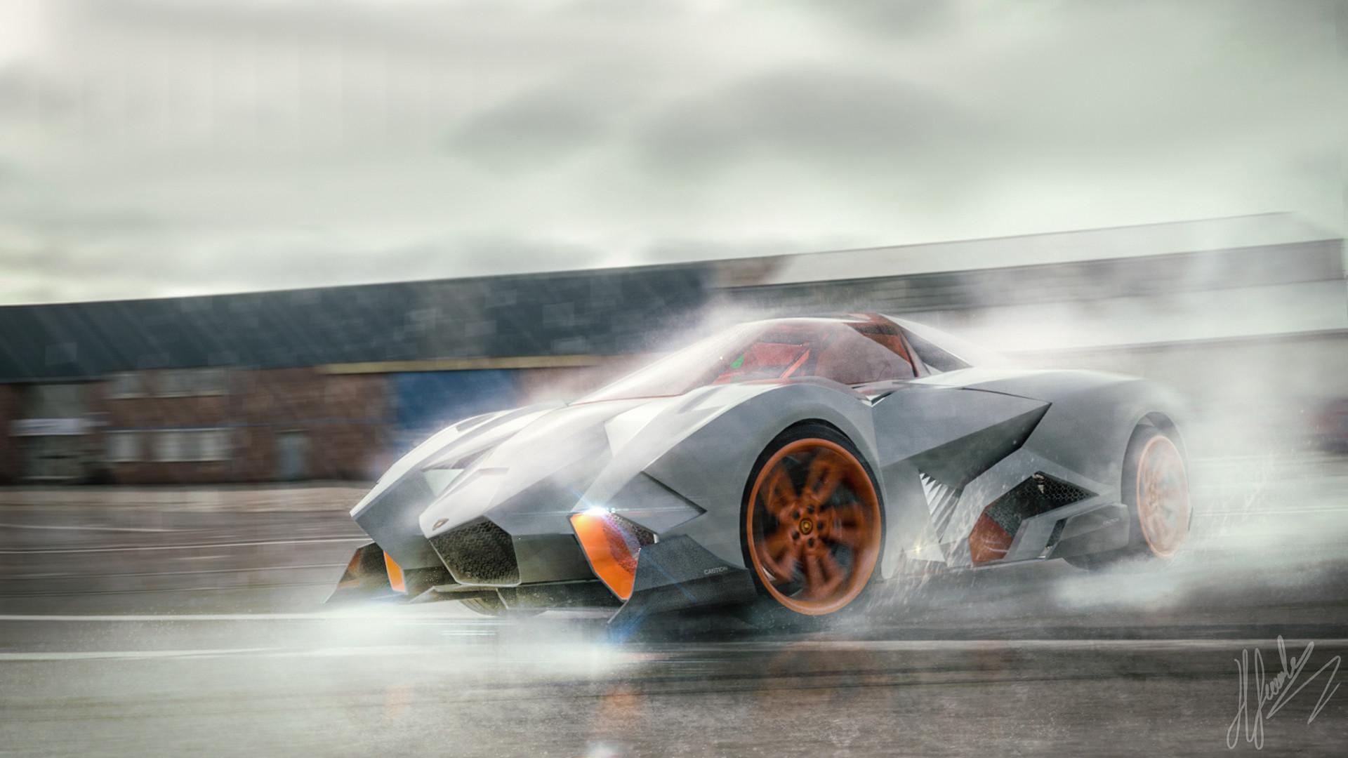 Halid Gemalmaz Lamborghini Egoista