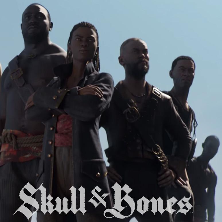 Skull & Bones E3 2018 Trailer - Cloth textures
