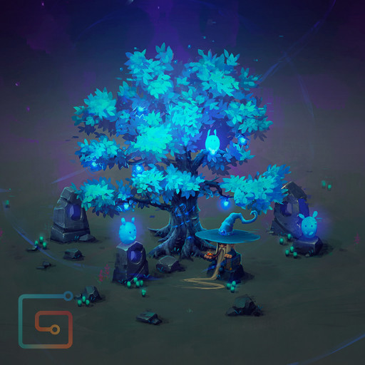 Isometric Mana Tree