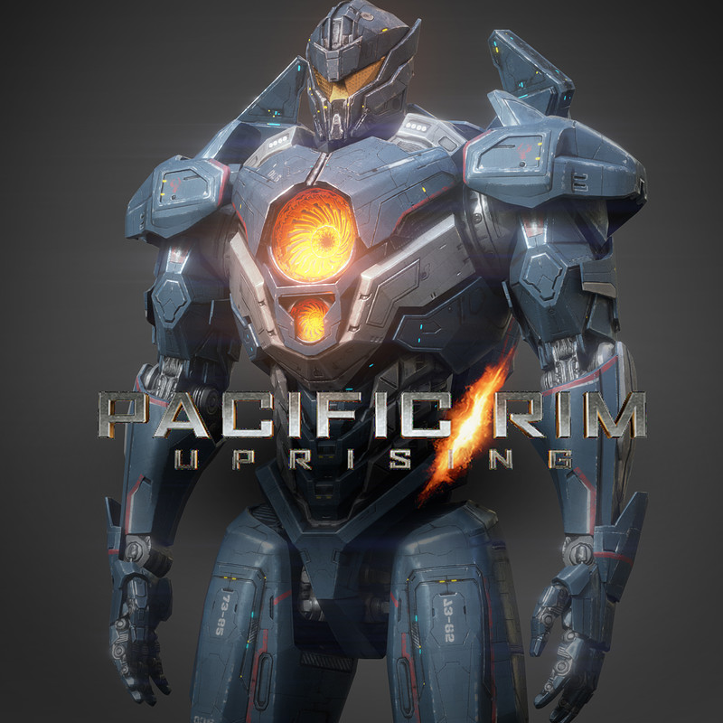 Pacific Rim / Uprising - Augmented reality project (Mobile)