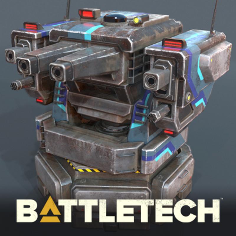 BATTLETECH - Heavy Turret