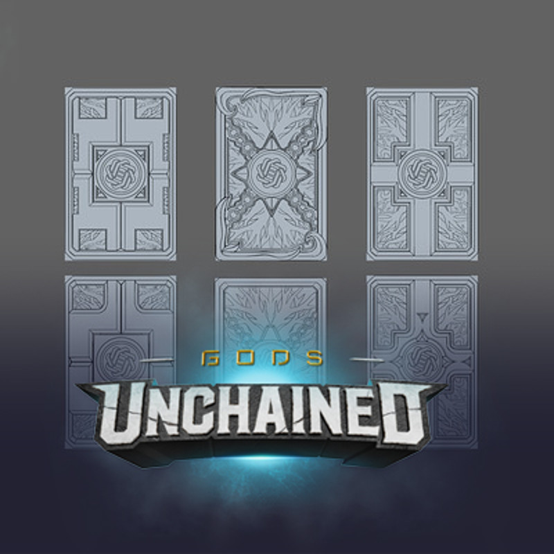 Gods Unchained: Card fronts and Back Design
