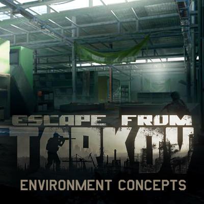 ArtStation - escape form tarkov environment concepts, EUGENE