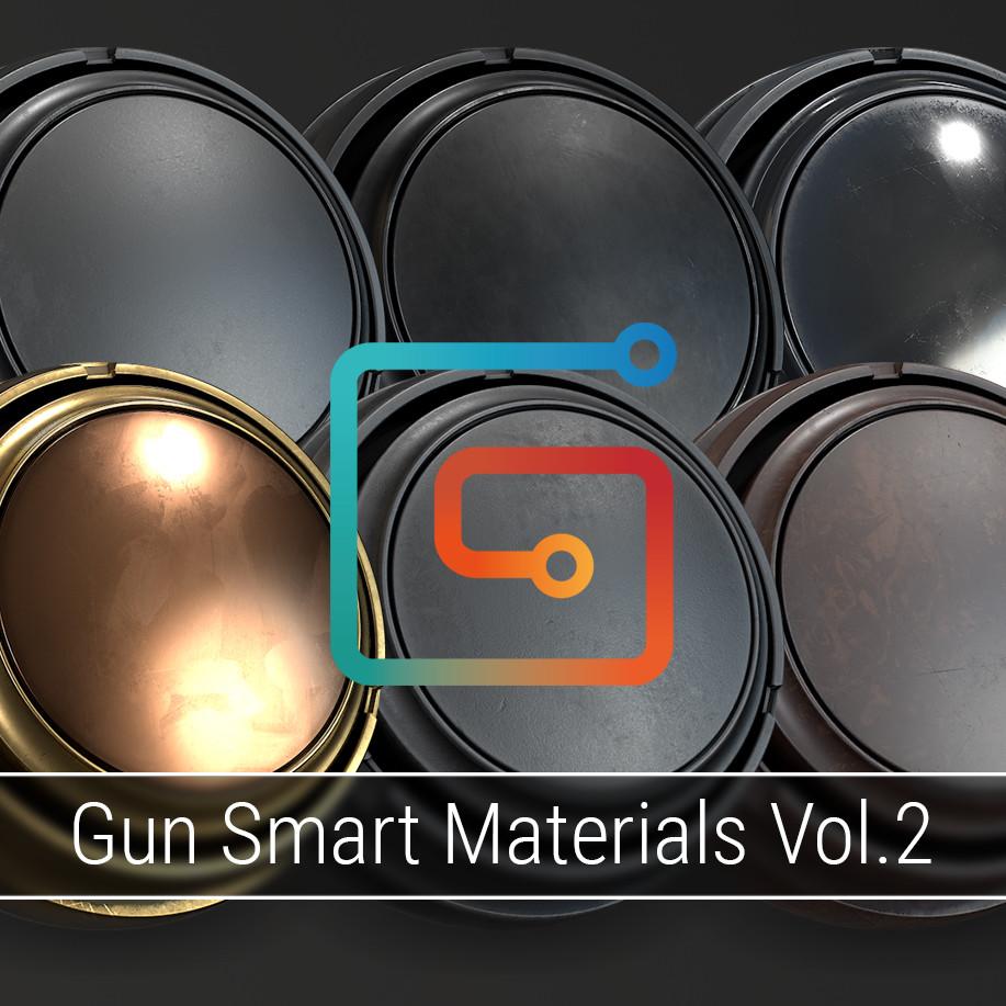 Gun Smart Materials Pack Vol.2