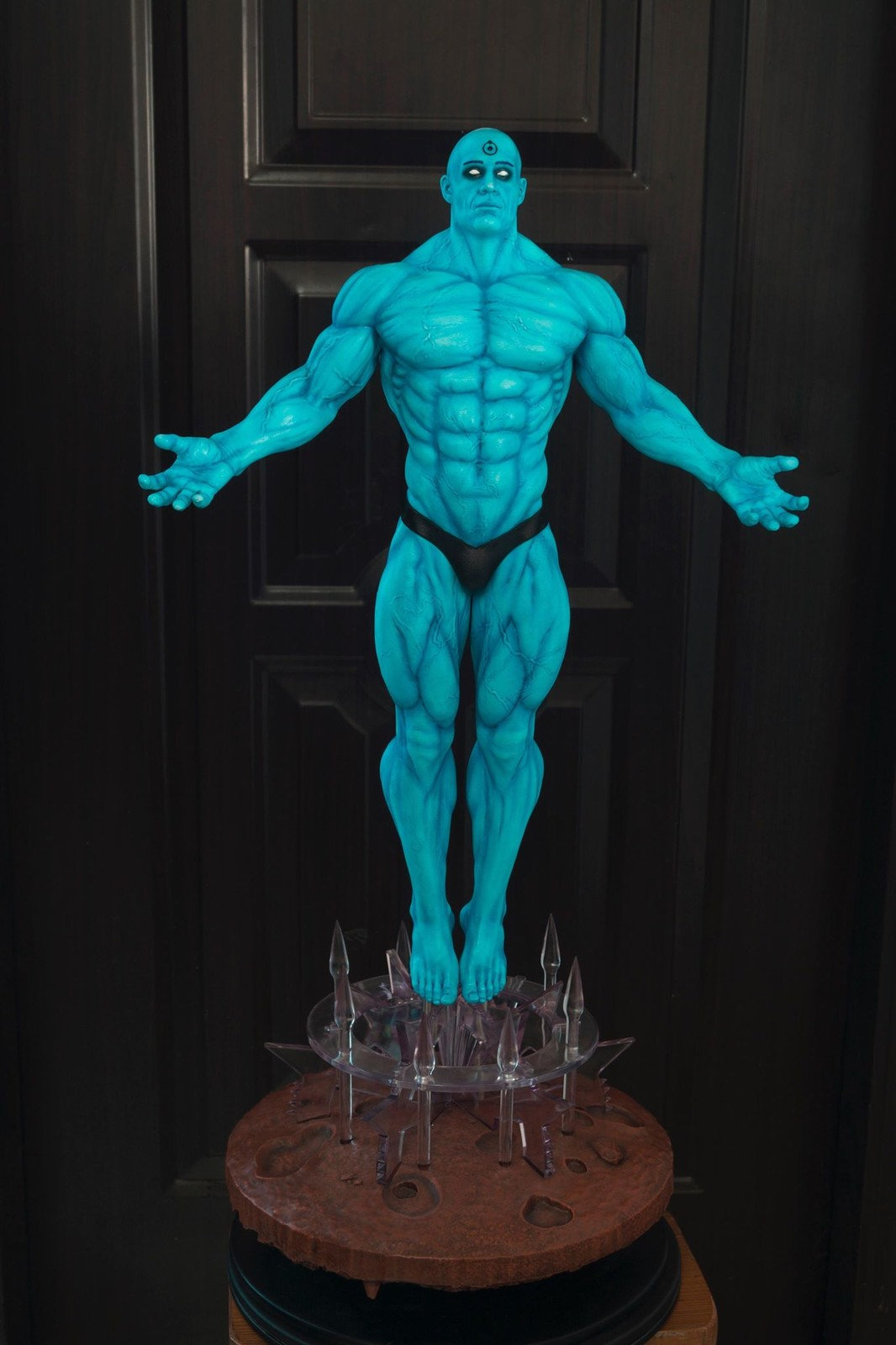 Dr Manhattan - Printed and Painted