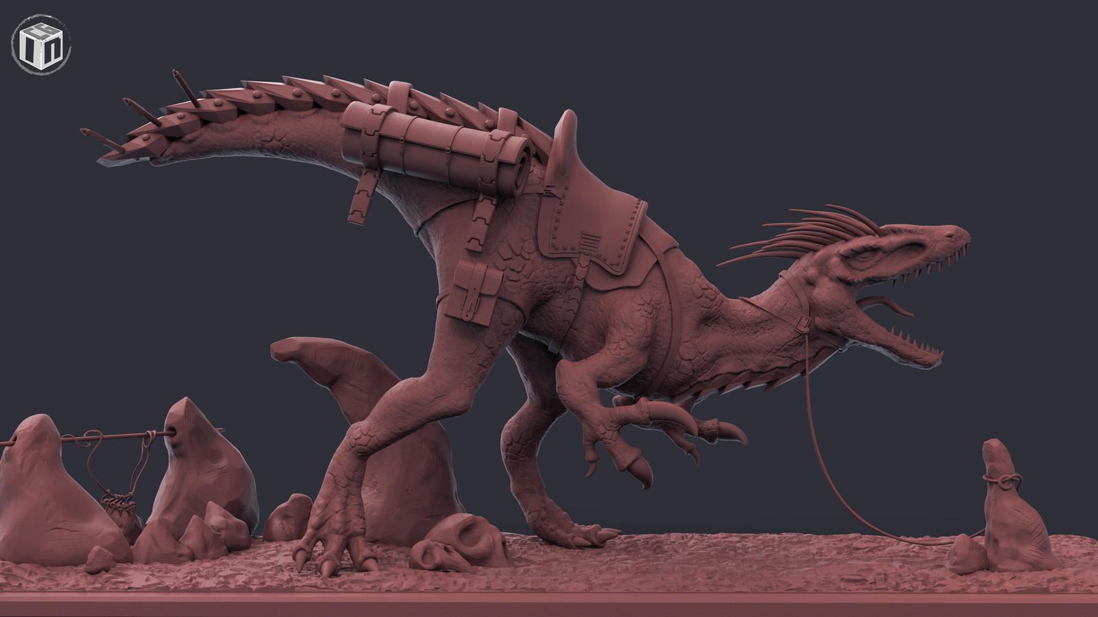 Journey Mount Editions - Savage Raptor