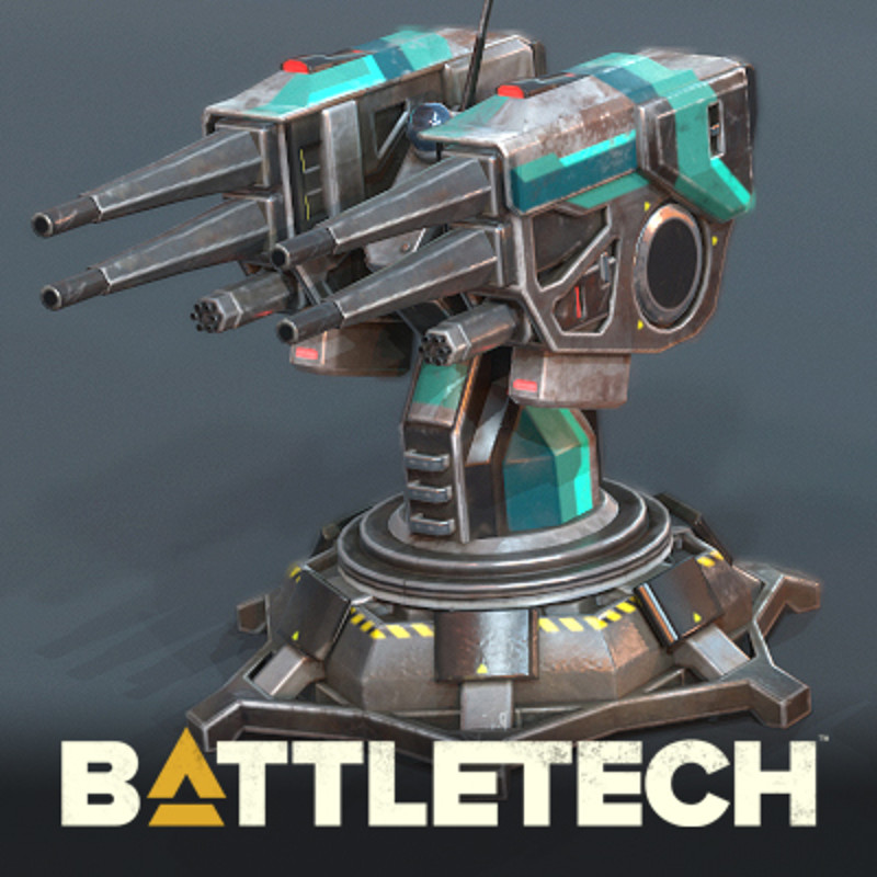 BATTLETECH - Light Turret