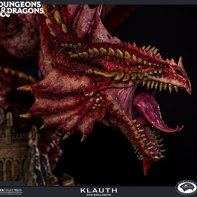 Gael kerchenbaum 0006244 klauth red dragon fire ex 1