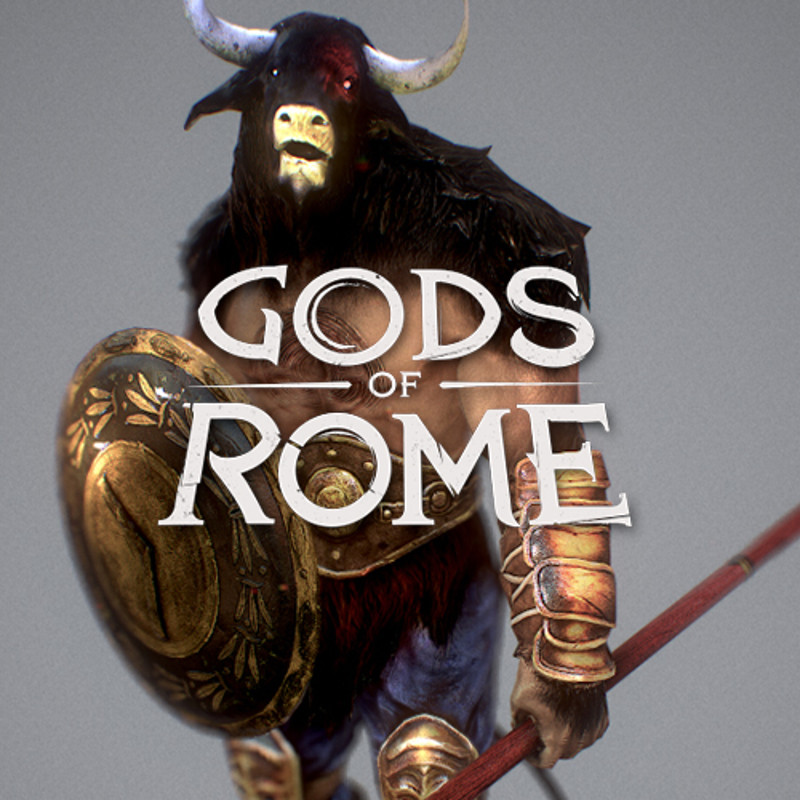 Gods of Rome - 3D character