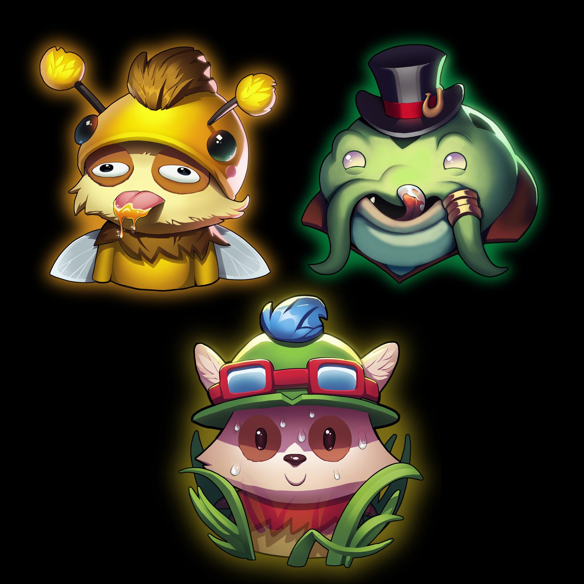 ArtStation - League of Legends Fan Contest Emotes, Leon Ropeter