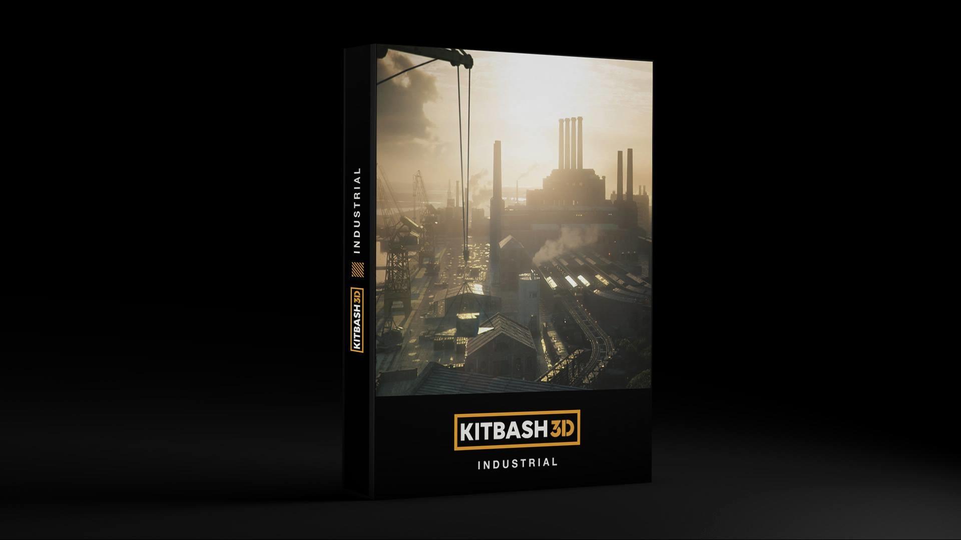 ArtStation - Kitbash3D - Industrial, Mihailo Radosevic