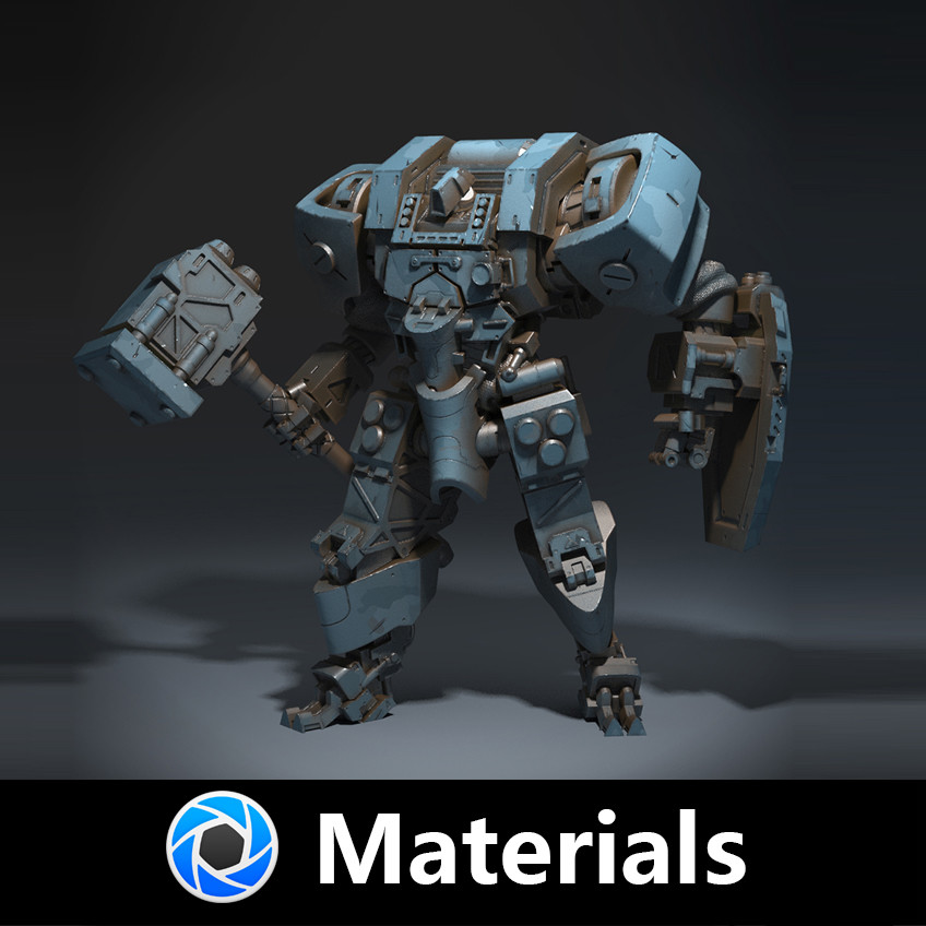 ArtStation - Free Keyshot Materials, Nathan Storm