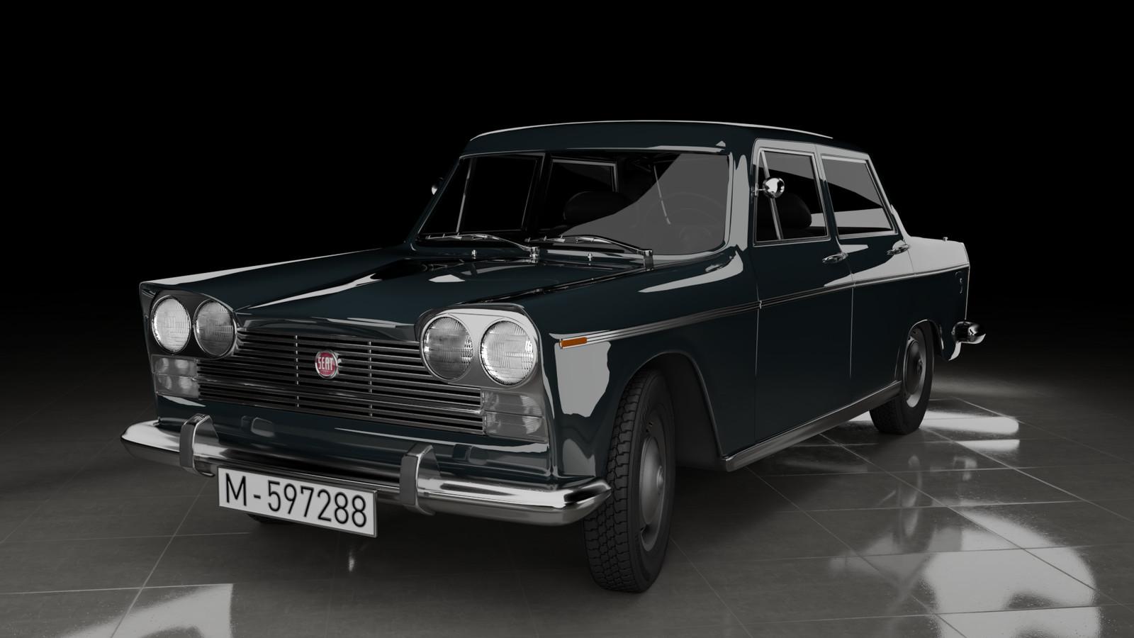 SEAT 1500 car model
