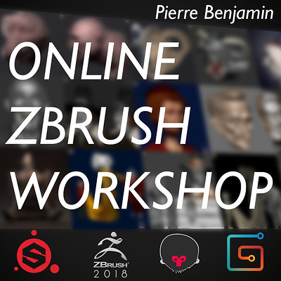 Online ZBrush course - Available on demand from Gumroad