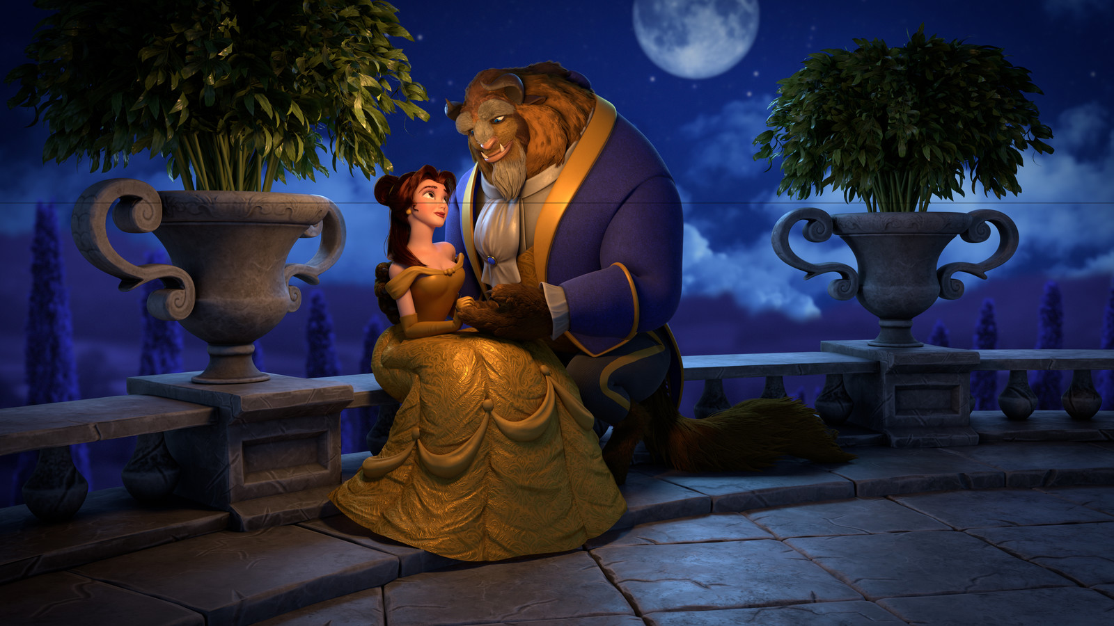 Beauty and the Beast - Look Dev Project