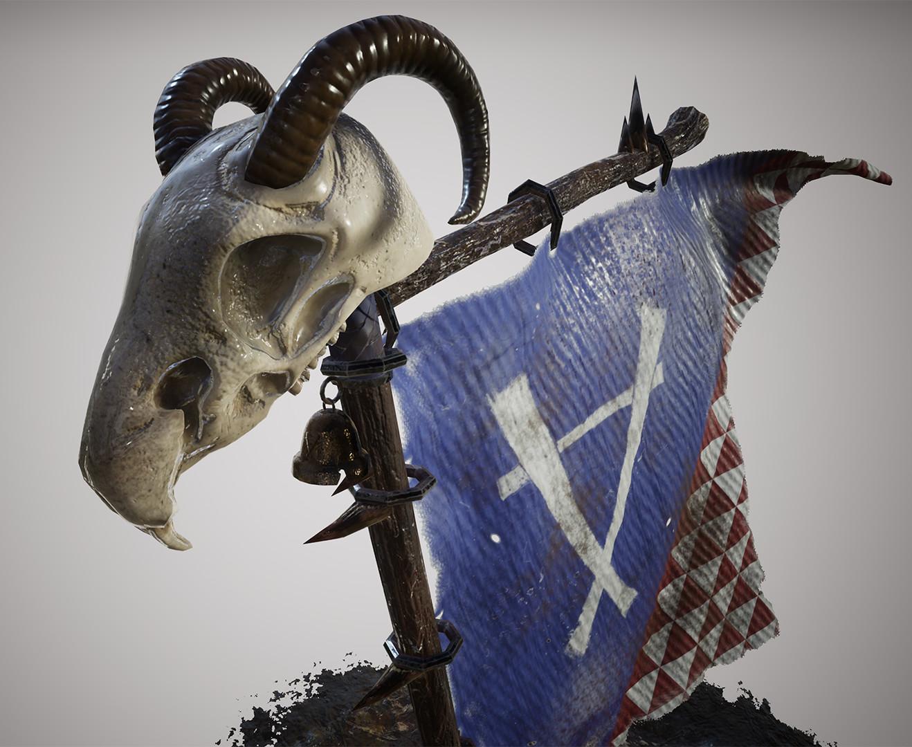 Warhammer: Skaven Banner