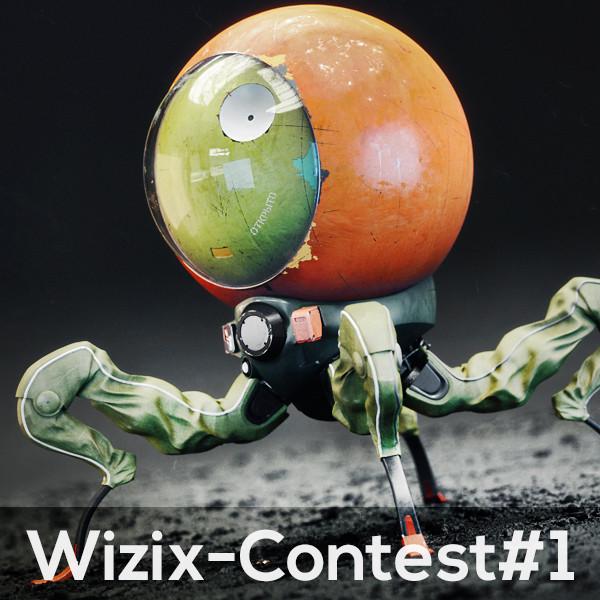 ArtStation - Radar Bot - Wizix Contest #1, - Wizix -