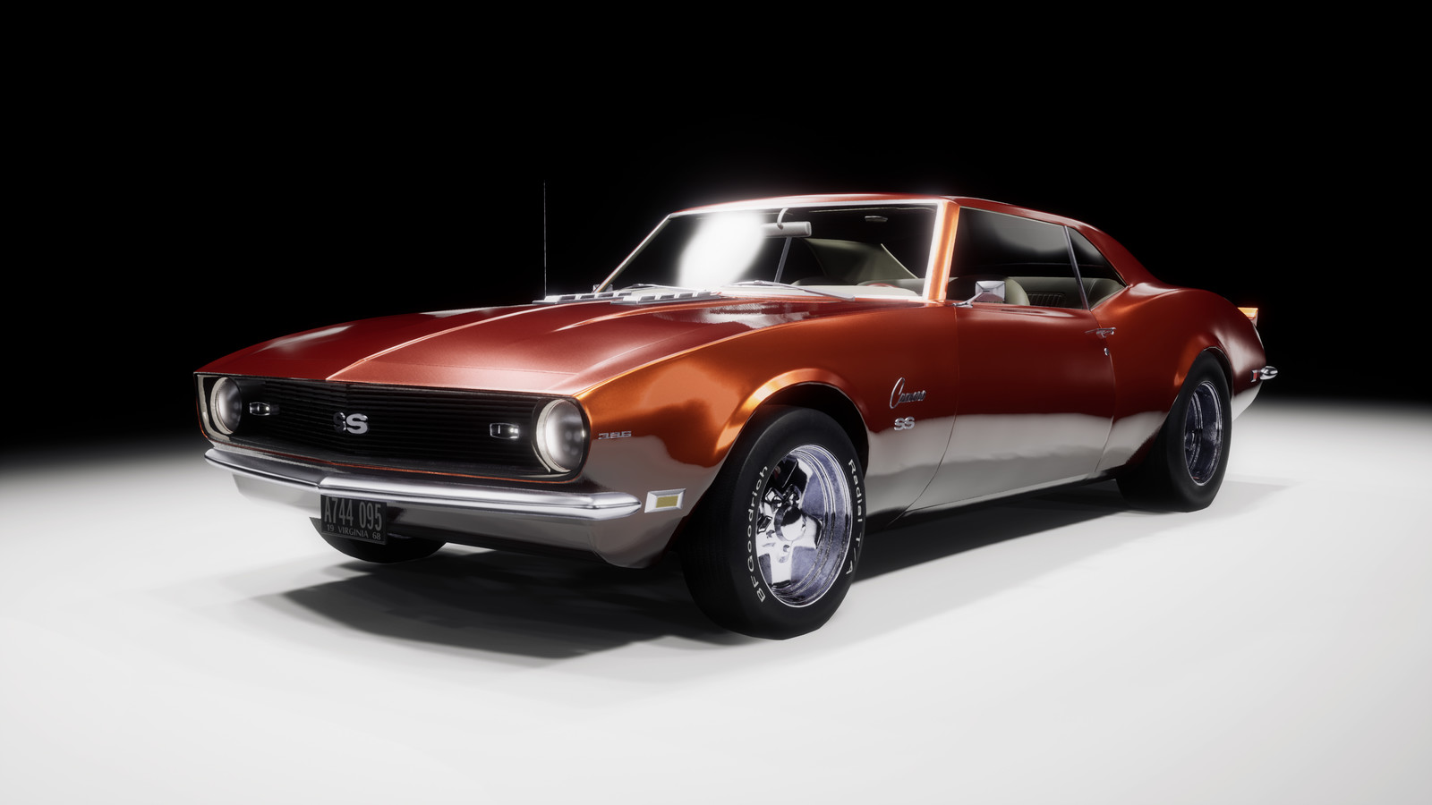 1968 Camaro SS 396 Game Ready