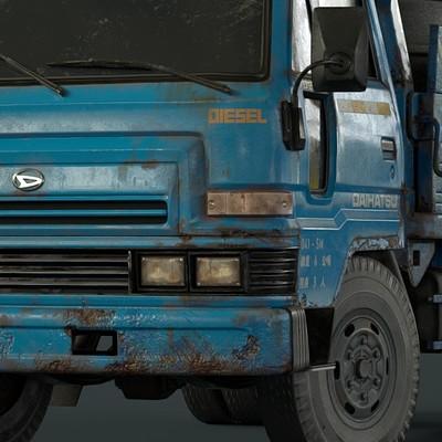 Daihatsu Delta Work Truck