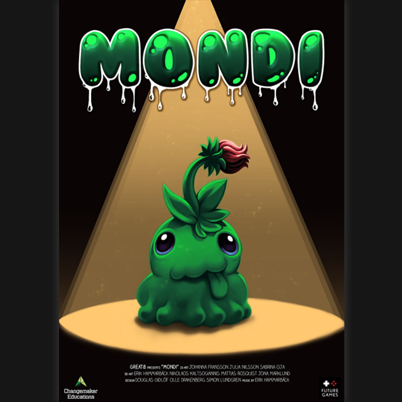 Mondi - 4 week game project