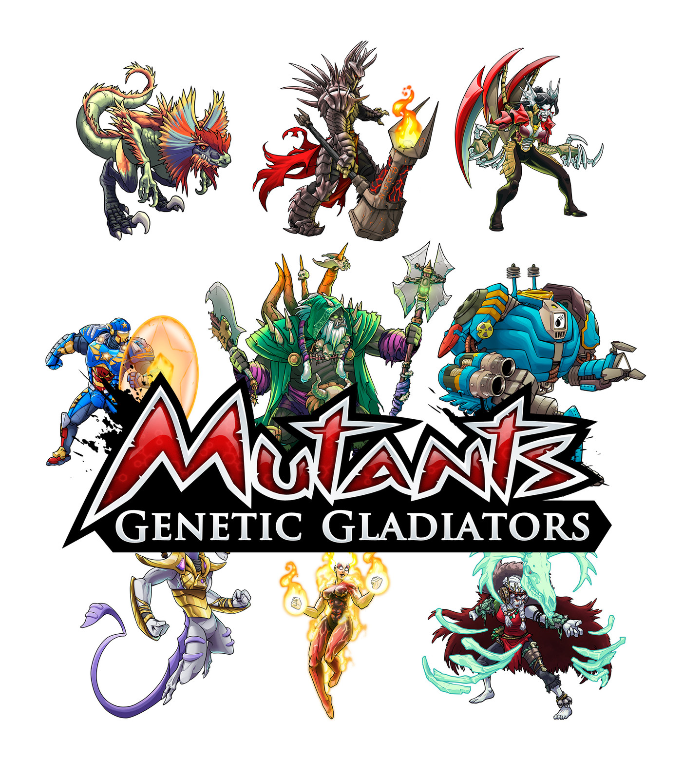 Mutants - Character designs 2