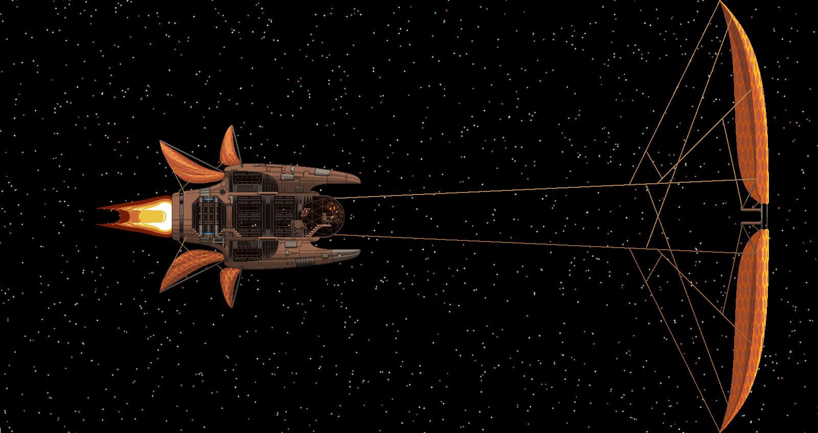 Artstation Furnace Wind Starbound Ship Mod Alastair Parkin