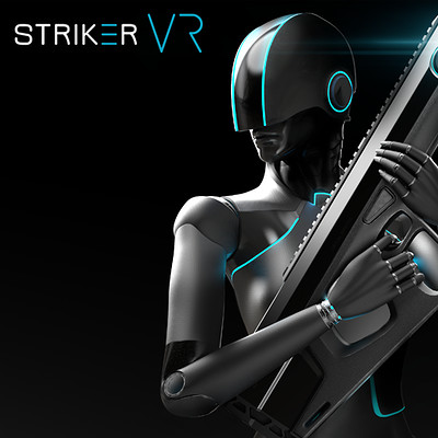 Haptech Striker VR - Look Development