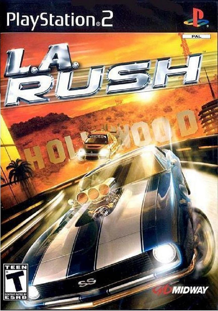 PlayStation 2 - L.A. Rush Trailer (HD)