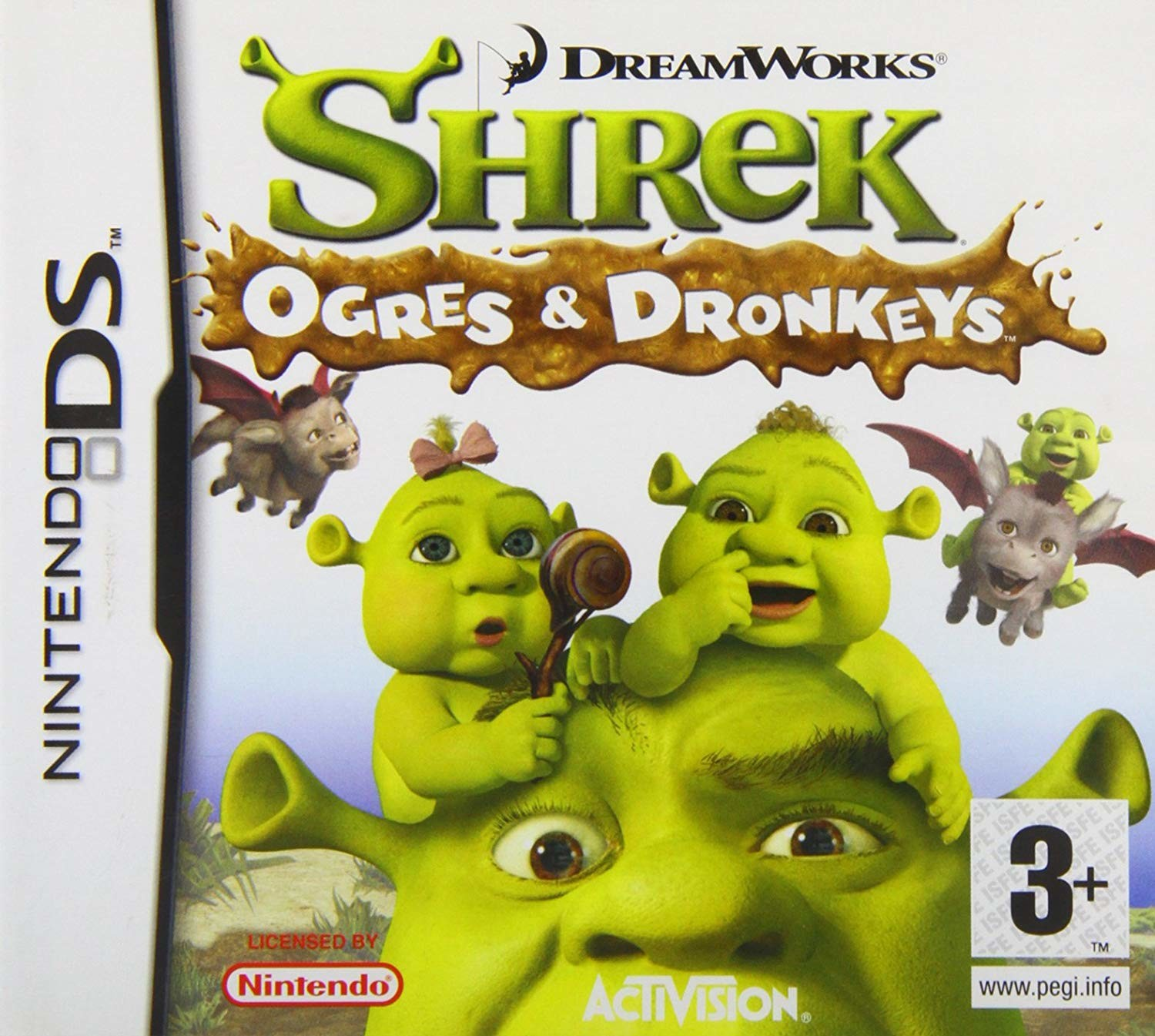 Shrek Ogres & Dronkeys (DS)