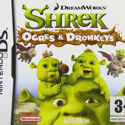Shrek Ogres & Dronkeys (DS)