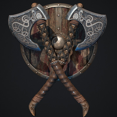 Substance Designer - Viking Axe