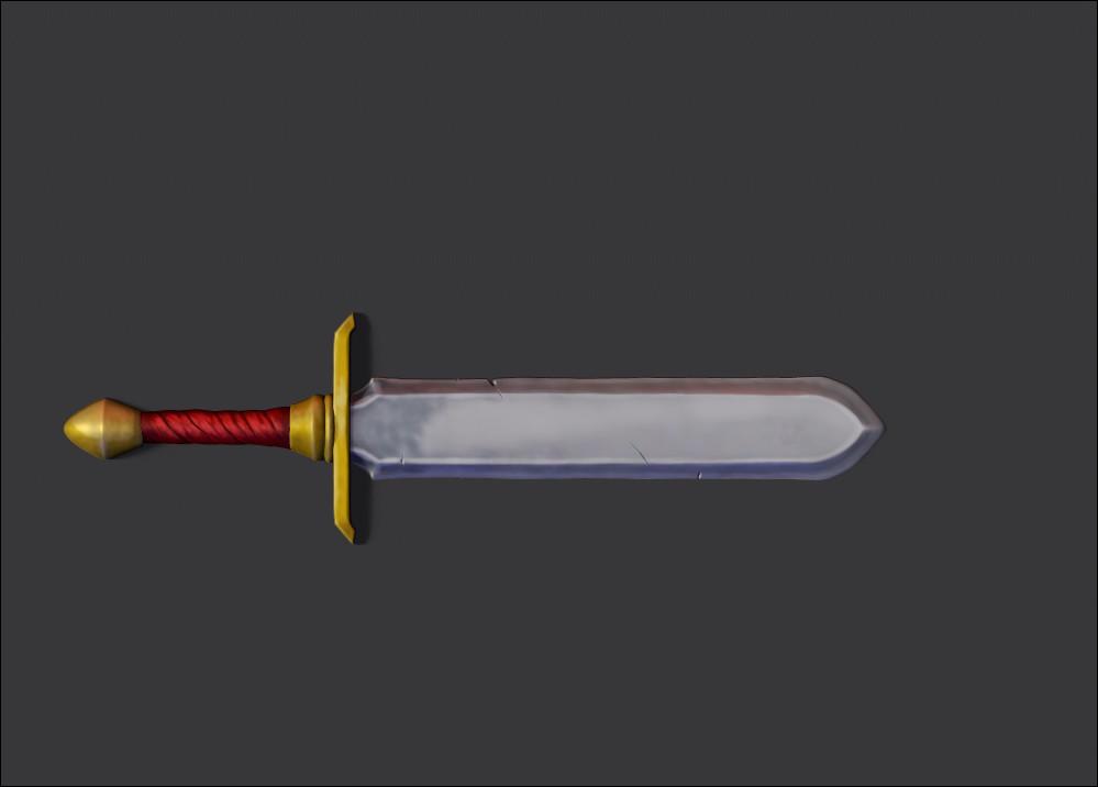 Stylized Sword