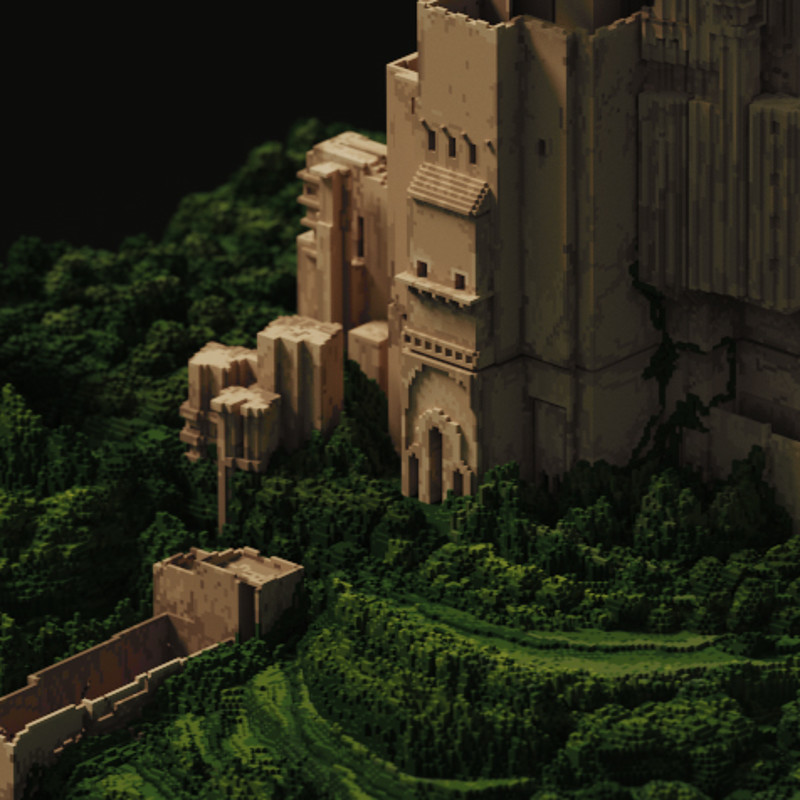 Castle on the hills