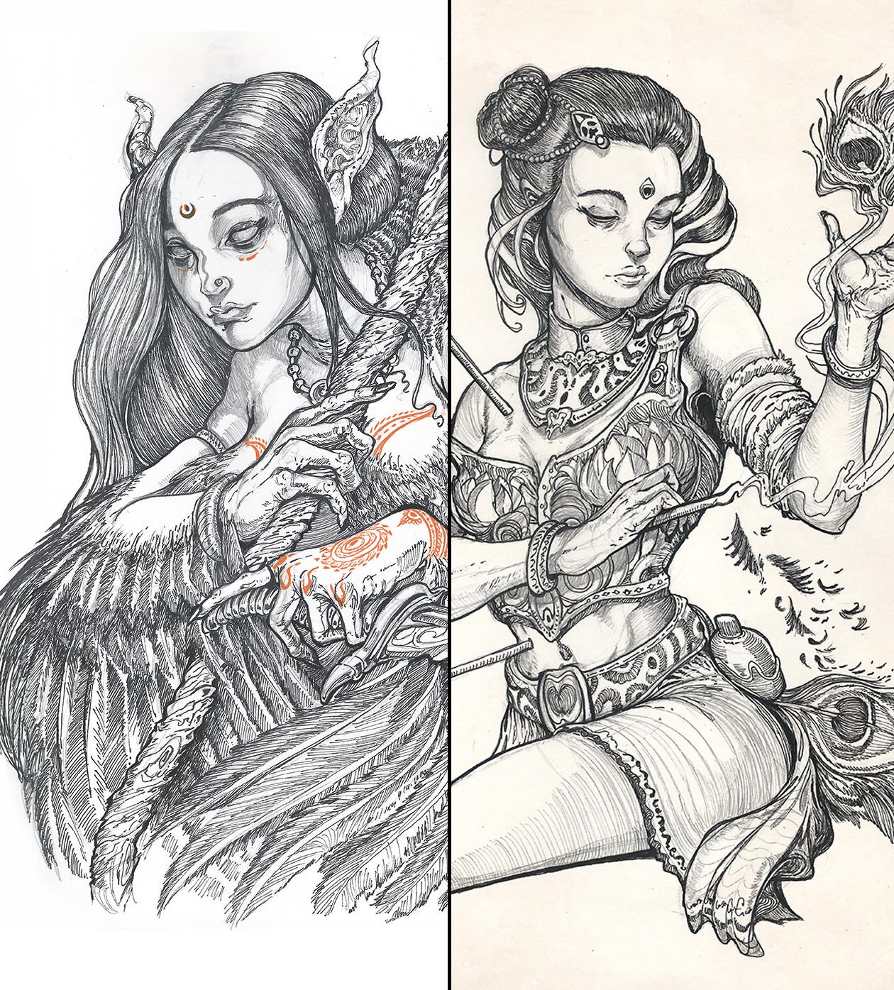 Sketchbook pages - 7