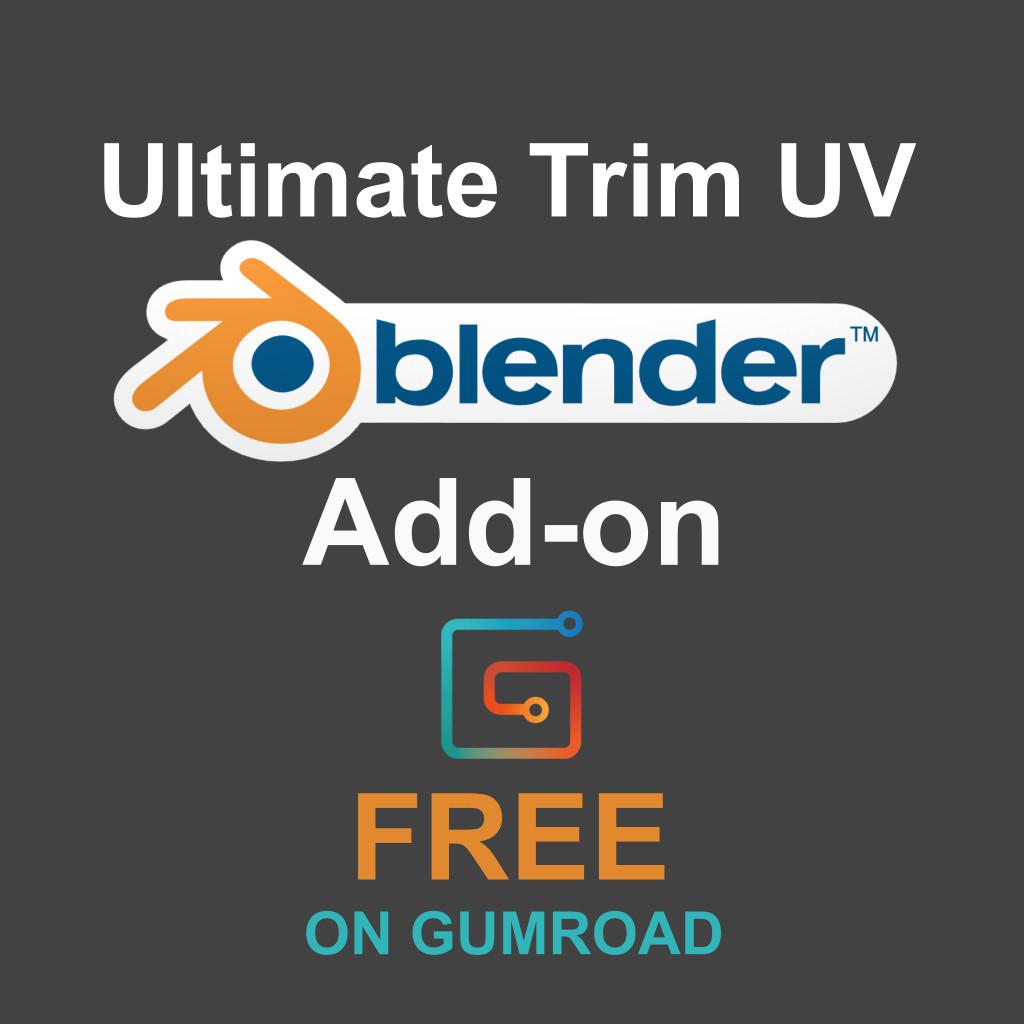 ArtStation - Ultimate Trim UV - Free Blender Add-on, Justen