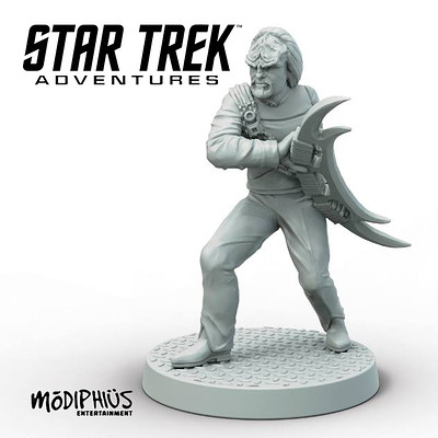 Worf - Star Trek Adventures