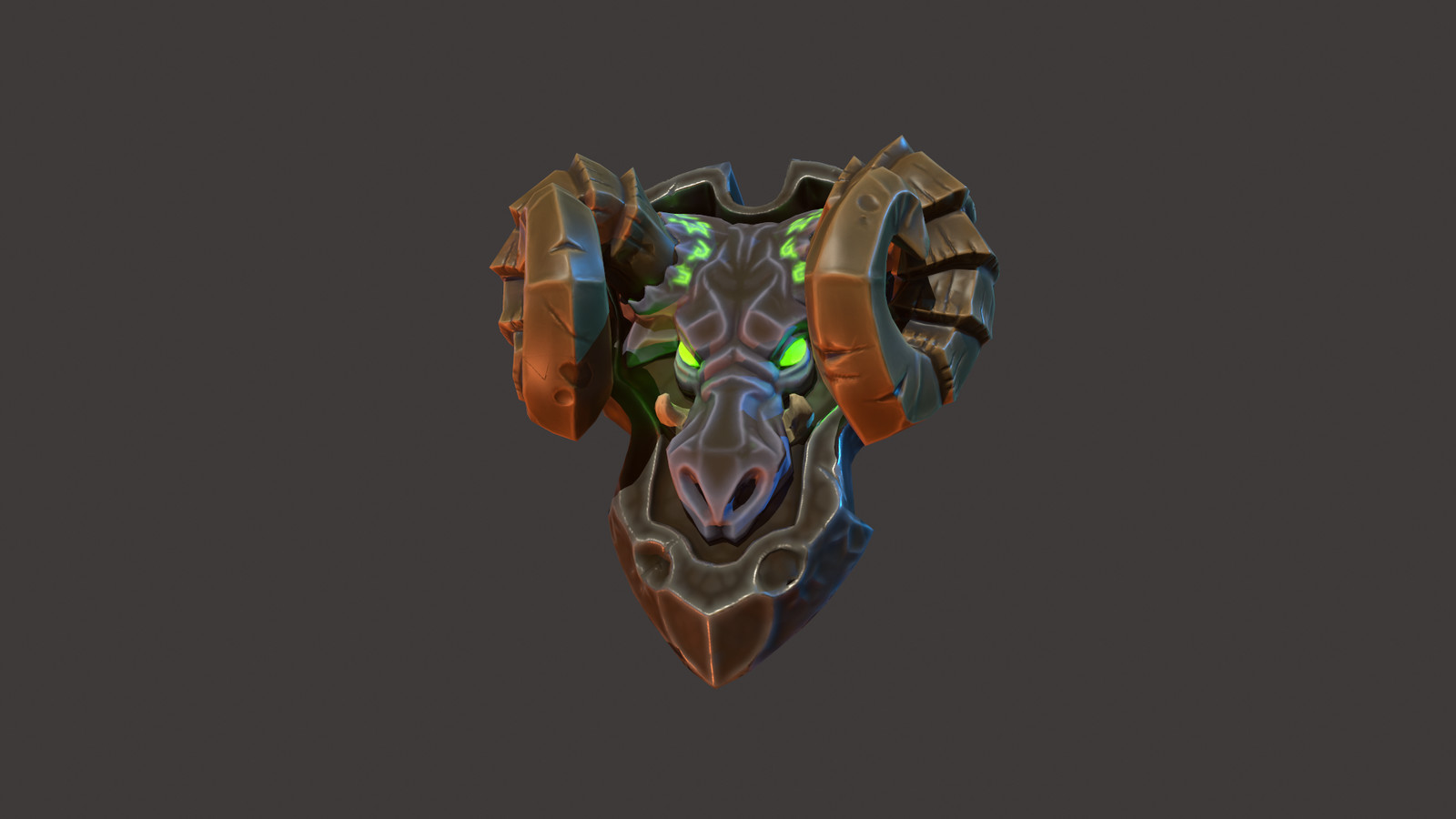 Demon Shield (with process)