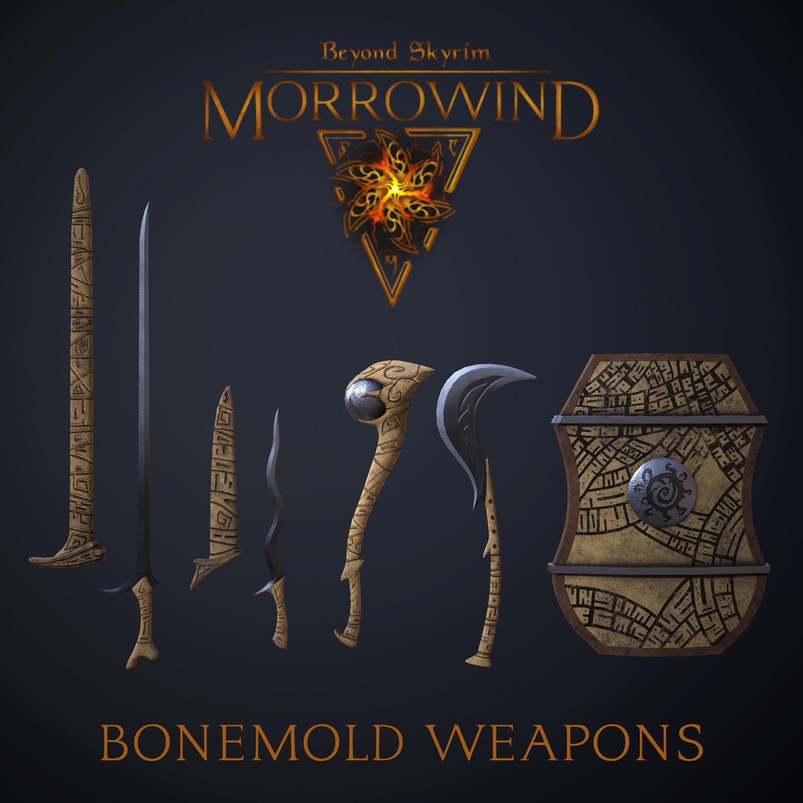 Bonemold Weapon Set